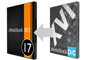 Upgrade to MetaStock RT17 from DC16